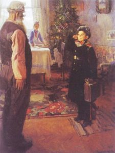 Arrived on vacation. 1948. The State Tretyakov Gallery