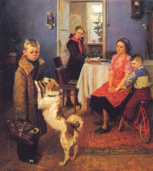 Bad mark again. 1952. The State Russian Museum