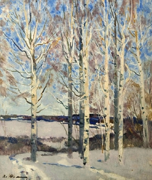 Birches in February