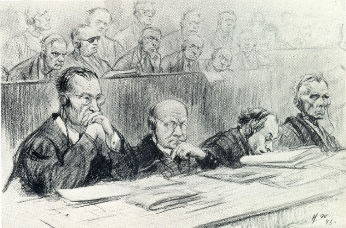 Counsel for the Defence and the defendants. 1946