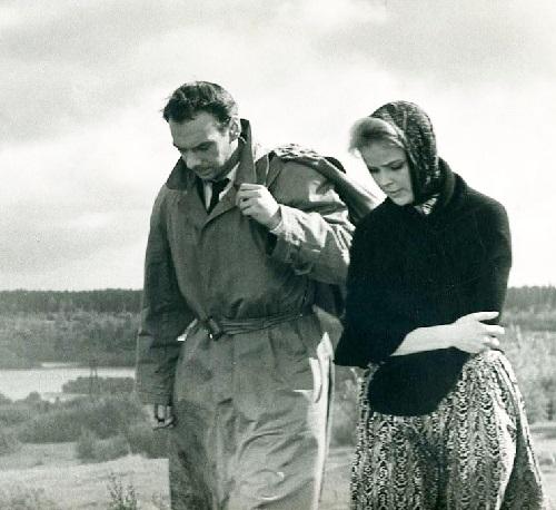 Day of happiness, 1963, Alexey Batalov and Tamara Syomina