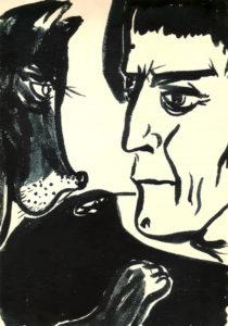 Soviet artist Nadya Rusheva
