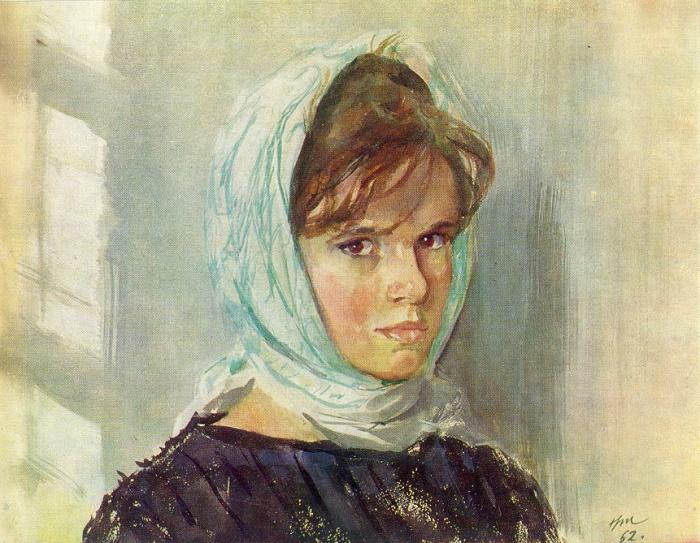 Eldest daughter of the artist. 1962