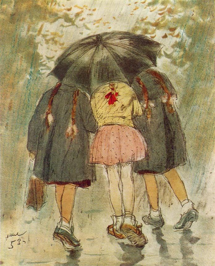 Five Plaits. 1953