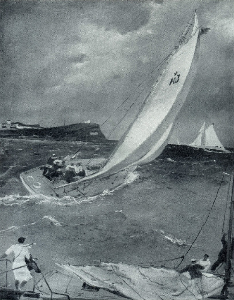 At the sea. 1935