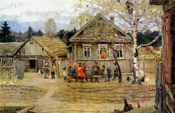 In the village of 'Maly Gorodok'