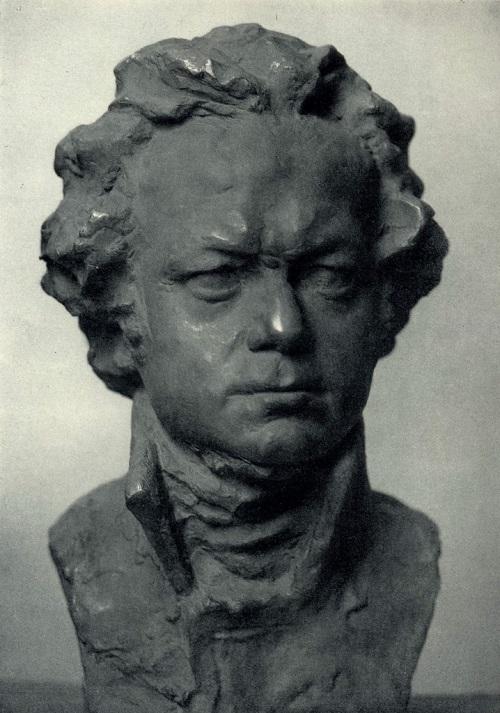 Karl Marx. 1971. Bronze. Sculptor Zalman Moiseevich Vilensky