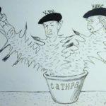 Masters of Soviet caricature Kukryniksy