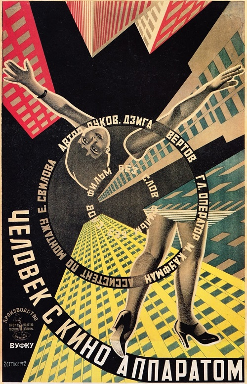 Man with a Movie Camera, 1929