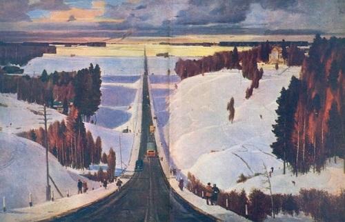 Soviet artist Georgy Nissky