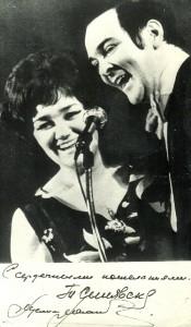Soviet singer Muslim Magomayev