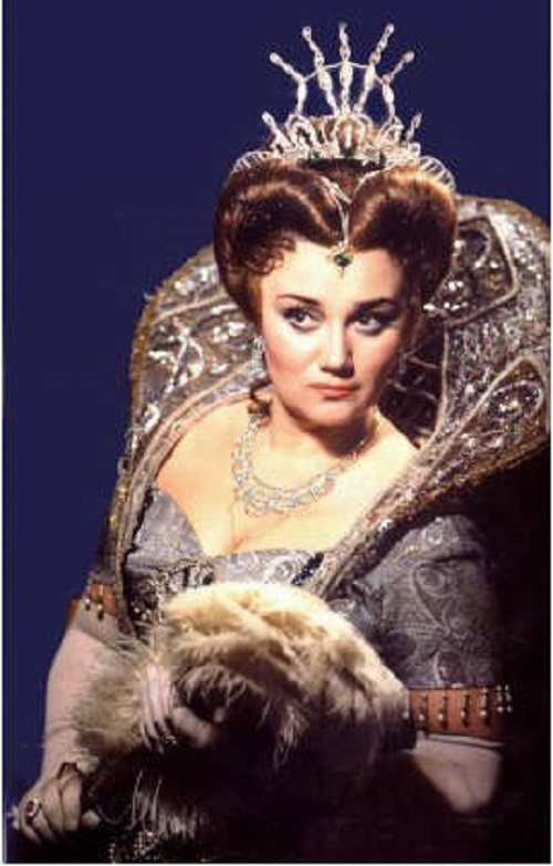 People's Artist of the USSR Tamara Sinyavskaya in the opera Boris Godunov