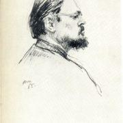 Portrait of artist Alexandr Laktionov. 1955