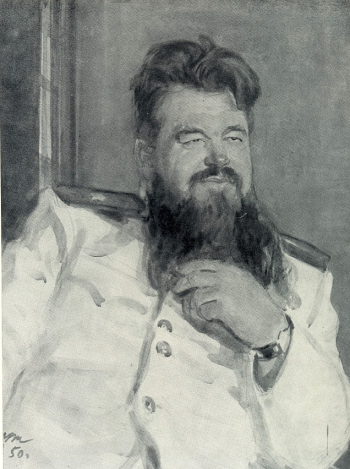 Pyotr Vershigora, Hero of the Sovie Union. 1950