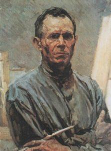 Soviet artist Arkady Plastov