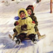 Sledging from a hill