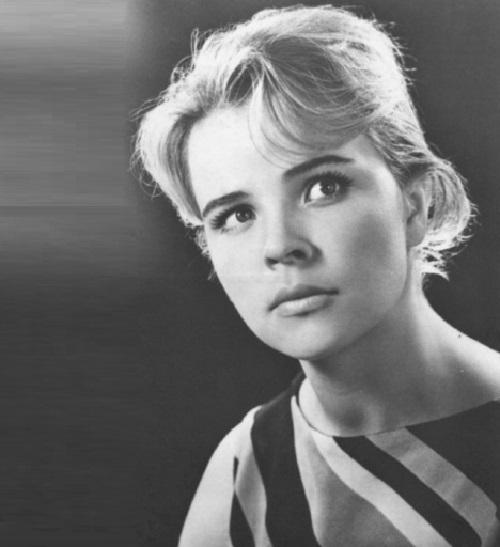 Soviet actress Tamara Syomina, 1965
