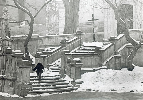 Staircase in Lvov, 1979