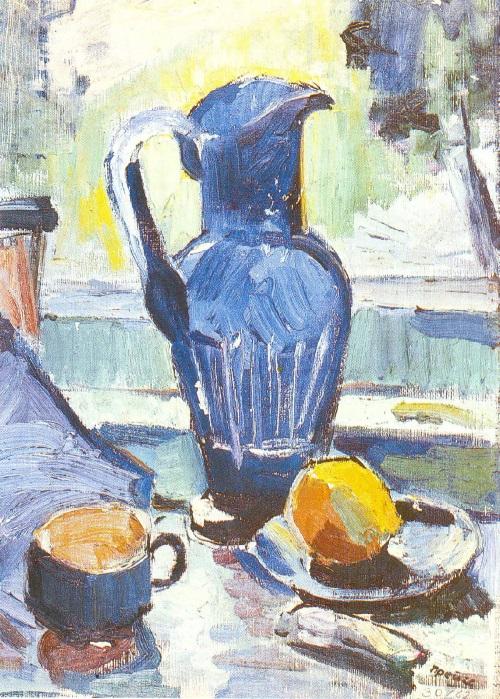 Soviet German artist Hans Preuss