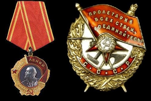 Soviet State Awards. The Order of Lenin and the Order of the Red Banner