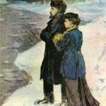 The ice is broken (Lenin and Krupskaya)
