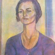 Valya. Oil, canvas. 1975