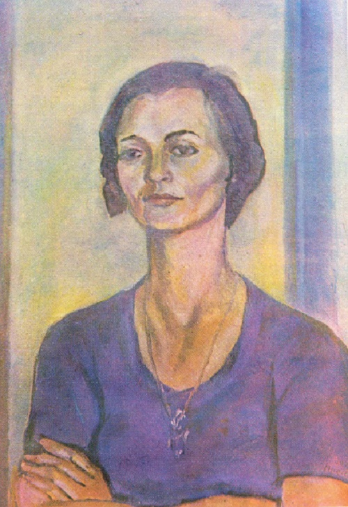 Valya. Oil, canvas. 1975