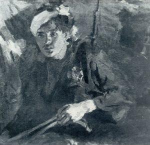 Soviet artist Mikhail Bozhyi