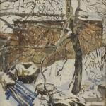 Soviet landscape painter Sulo Yuntunen 1915-1980