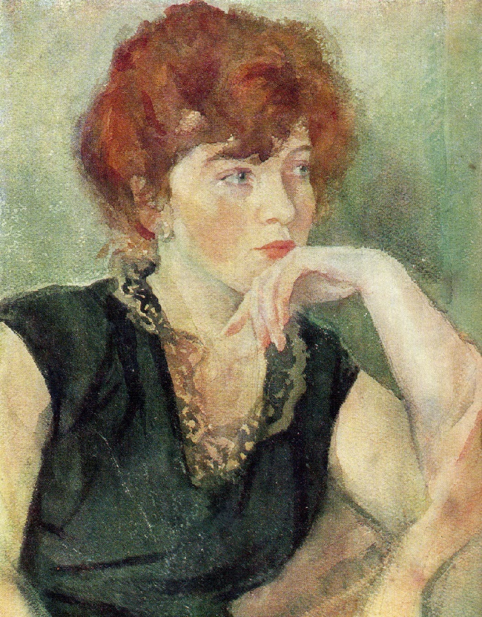 Woman's portrait. 1964