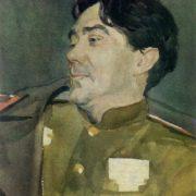 Writer B.N. Polevoy. 1959