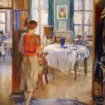 Soviet artist Yuri Pimenov