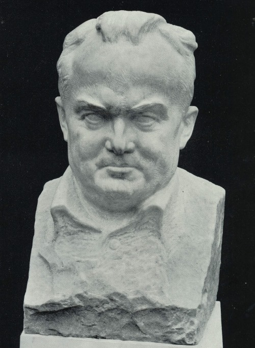 SP Korolev. 1981. Marble