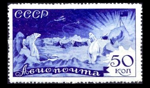 25 January 1935. The rescue of Chelyuskinites. The abandoned camp