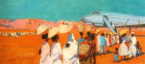 Airfield in Gondar