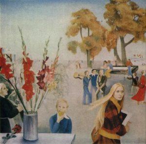 Soviet artist Elena Romanova