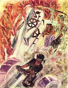 Soviet artist Alexei Pakhomov