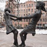 Soviet sculptor Mikhail Anikushin
