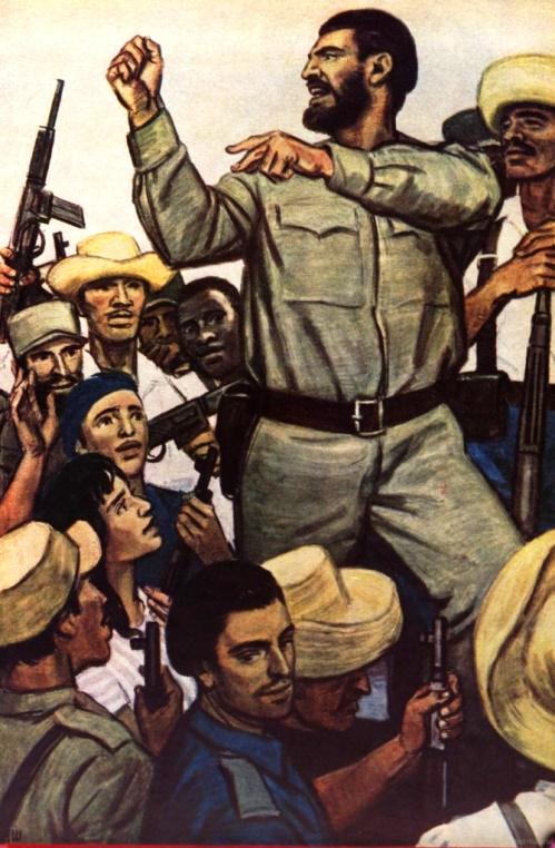 Dementy Shmarinov. Motherland or Death. Fidel Castro