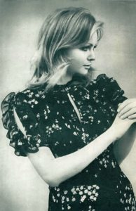 Stunningly beautiful model Galina Milovskaya