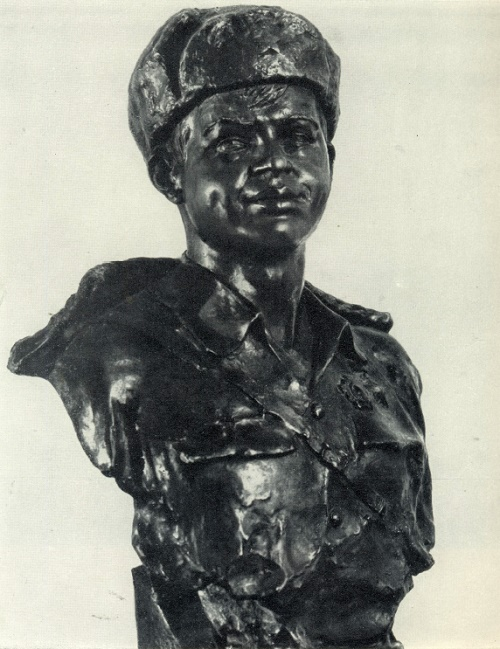 Hero of the Soviet Union Fyodor Smolyachkov. 1942