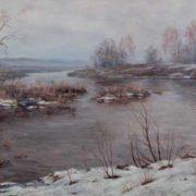 I. V. Shcherbino. Flooding. 2006. Artist I.V. Shcherbino. Tomsk art museum