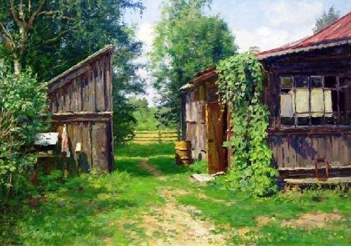Soviet artist Yuri Kugach