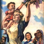 International women's Day. Poster by I. Toidze