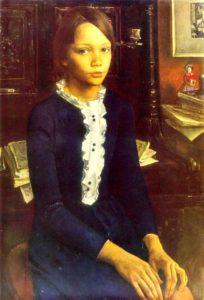 Soviet painter Larisa Kirillova