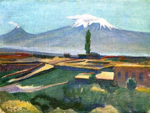 Soviet Armenian artist Martiros Saryan