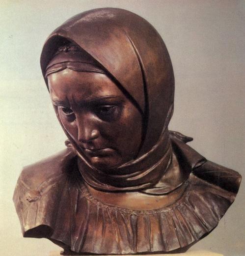 Soviet sculptor Matvey Manizer