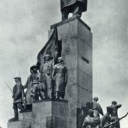T.G. Shevchenko in Kharkov. Bronze, granite. 1935