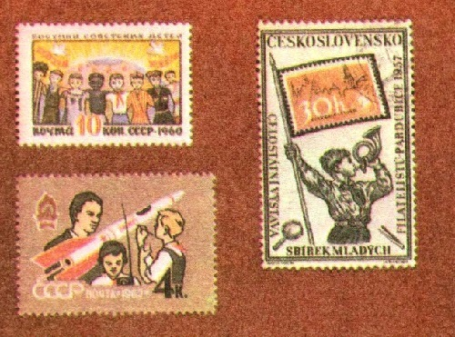 Pioneer stamps