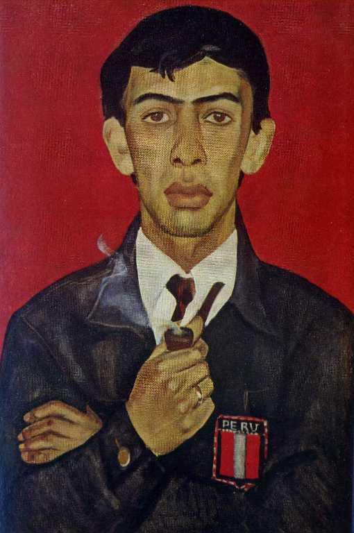 Portrai of Peruvian artist Lionel Velarde. 1967